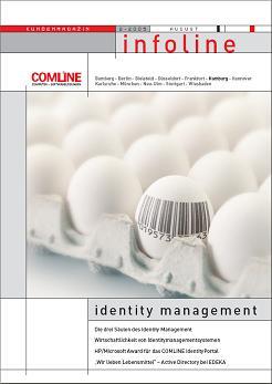 COMLINE Kundenmagazin INFOLINE 2/2005 Identity Management