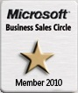 Microsoft Business Sales Circle Member 2010