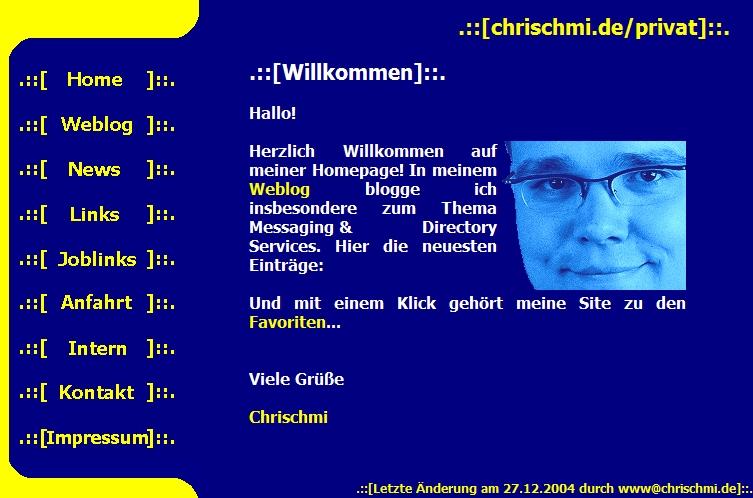 chrischmi.de mit Frames