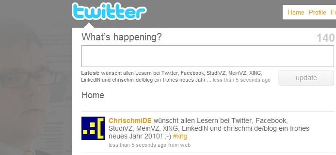 Twitter-Website
